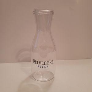 Belvedere Vodka Plastic Beverage Decanter